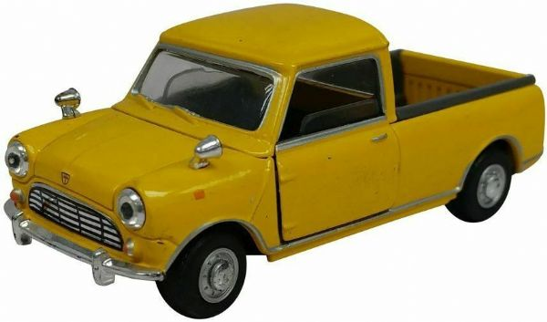Cararama  4-15760 1/43 Scale Pickup Pick Up Mini  Yellow